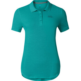 Odlo Trim Polo Shirt S/S Women baltic